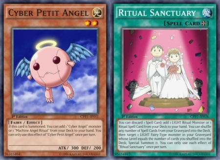 Cyber Petit Angel + Ritual Sanctuary